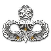 Army Senior 3 Combat Jump Wings vinyl transfer decal