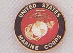 US Marine Corps Car Grill Badge