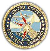 United States Strategic Command Pin