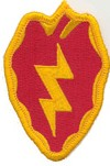 "25th Infantry Division 3"" Patch"