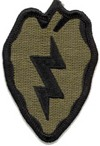 "25th Infantry Division Subdued 3"" Patch"