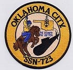 USS Oklahoma City SSN-723 Patch