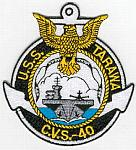 USS Tarawa CVS-40 Patch