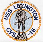 USS Lexington CVS-16 Patch