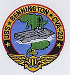 USS Bennington CVA-20 Patch