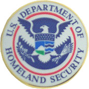 Department of Homeland Security Hat Pin