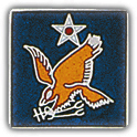 2nd Air Force Pin