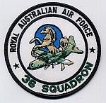 Royal Australian 36 Squadron Patch