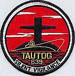 USS Tautog SSN 639 Patch