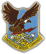 Aerospace Defense Command Pin
