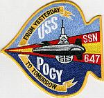 USS Pogy SSN 647 Patch