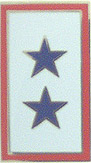 Service Banner - Two Star Pin