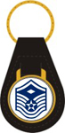US Air Force E7 Master Sgt. 1st Sgt. Key Fob