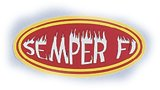 Semper Fi Reflective Decal