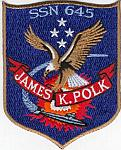 USS James K. Polk SSN 645 (Slow Attack Version) Patch