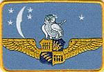 VPB-114 - Owl on Wings Patch
