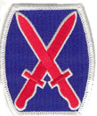"10th Mountain Division 3"" Patch"