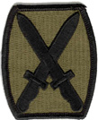 "10th Mountain Division Subdued 2 1/2"" Patch"