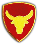 12th Infantry Division Pin