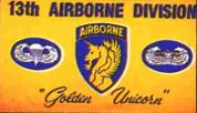 13th Airborne Division Flag