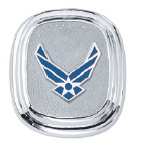 US Air Force Sterling Silver Lapel Tie Tac