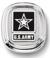 US Army Sterling Silver Lapel Tie Tac