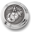 US Marine Corps Sterling Silver Lapel Tie Tac