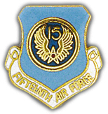 15th Air Force Pin