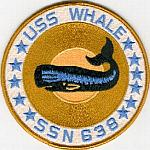 USS Whale SSN 638 Patch