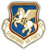 17th Air Force Pin