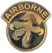 17th Airborne Pin