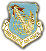 19th Air Force Pin