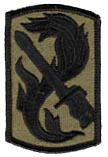198th Infantry Brigade Patch - Subdued