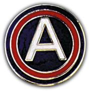 3rd Army Pin
