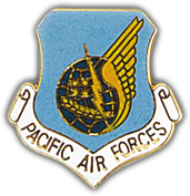 Pacific Air Command Pin