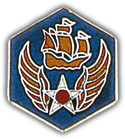 6th Air Force Pin
