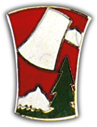 70th Infantry Division Pin