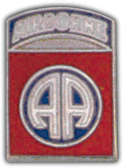 82nd Airborne Division Pin