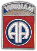 "82nd Airborne Division ""Vietnam"" Pin"