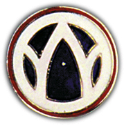 89th Infantry Division Pin