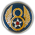 8th Air Force Pin