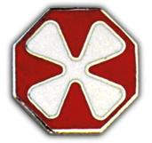 8th Army Pin