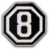 8th Corps Pin