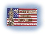The National Guard Retired Decal
