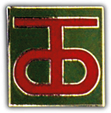 90th Infantry Division Pin