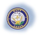 "Navy JROTC 4"" Round Decal"