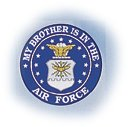 "My Brother Is In The Air Force 4"" Decal"