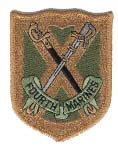 4th Marine Regiment Patch - Subdued