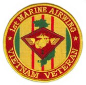 1st Marine Air Wing Vietnam Veteran Patch