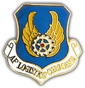 Air Force Logistics Command Pin